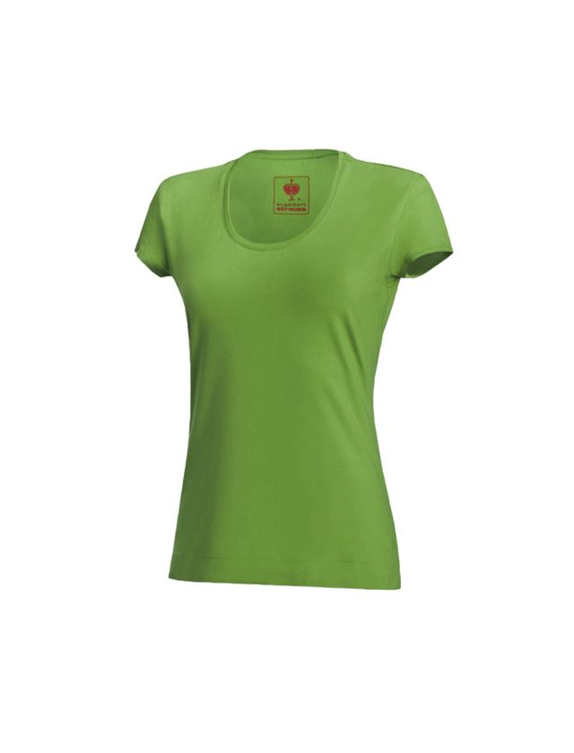 Shirts, Pullover & more: e.s. T-shirt cotton stretch, ladies' + seagreen