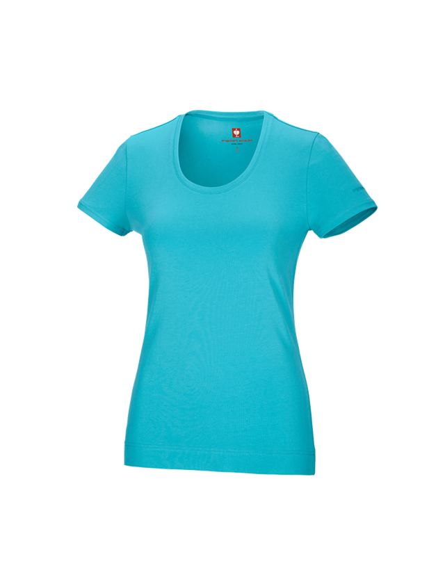 Shirts, Pullover & more: e.s. T-shirt cotton stretch, ladies' + capri