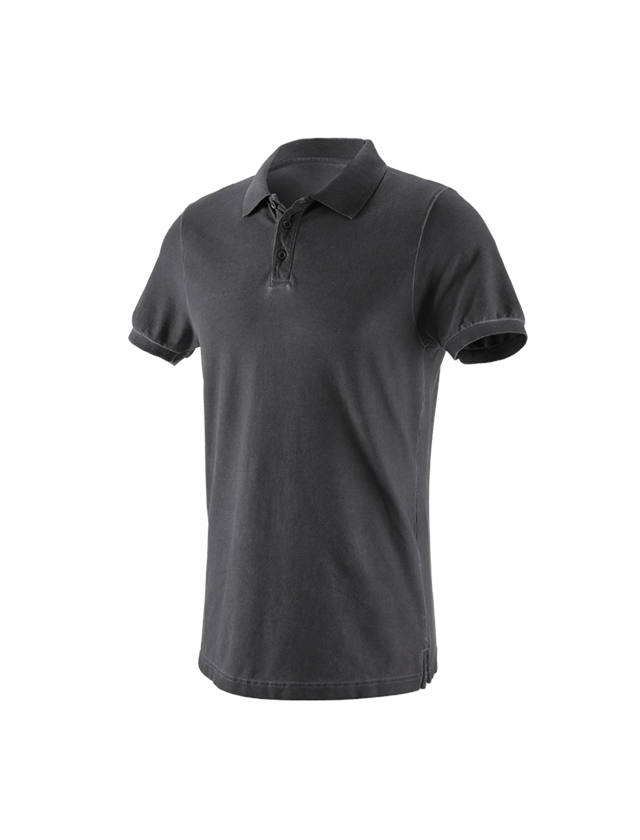 Shirts, Pullover & more: e.s. Polo shirt vintage cotton stretch + oxidblack vintage