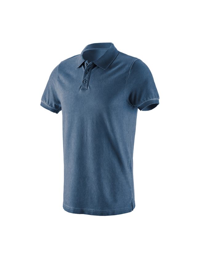 Shirts, Pullover & more: e.s. Polo shirt vintage cotton stretch + antiqueblue vintage