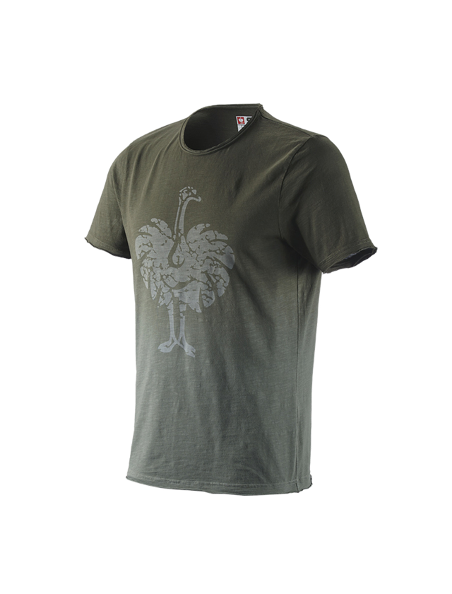 Shirts, Pullover & more: e.s. T-Shirt workwear ostrich + disguisegreen vintage
