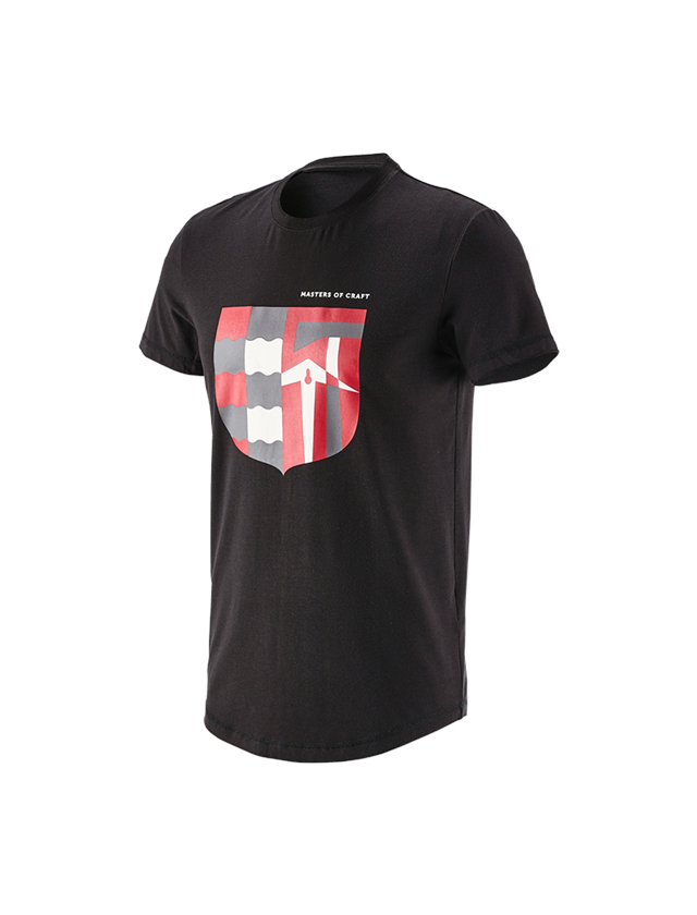 Shirts & Co.: e.s. T-Shirt Masters of Craft + schwarz