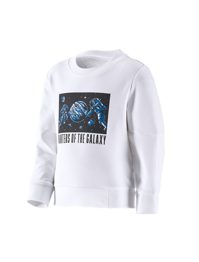 Shirts & Co.: e.s. Sweatshirt Mission 2020, Kinder + weiß