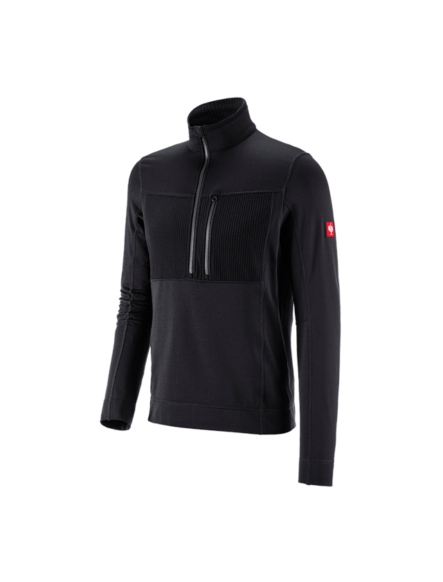Shirts & Co.: Troyer climacell e.s.dynashield + schwarz