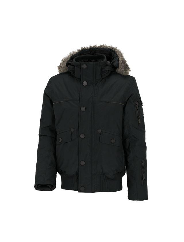 Work Jackets: Winter blouson e.s.vision, men's + black
