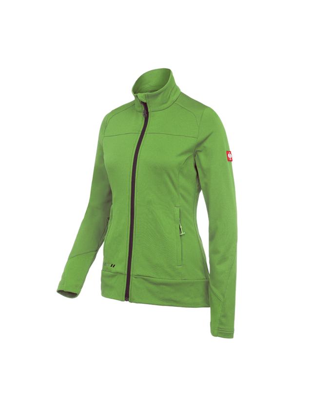 Jacken: FIBERTWIN® clima-pro Jacke e.s.motion 2020, Damen + seegrün/kastanie