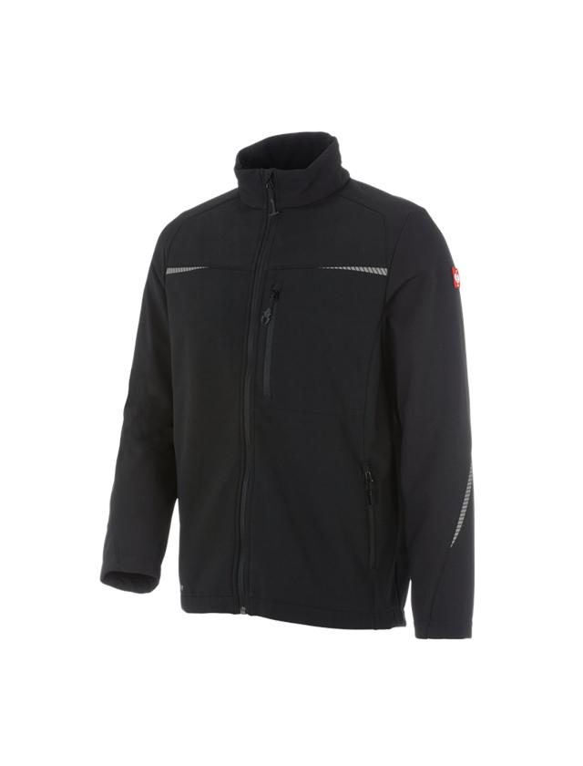Work Jackets: Softshell jacket e.s.motion 2020 + black