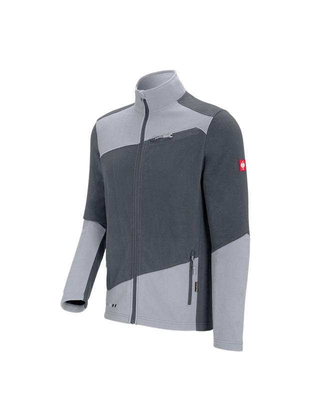Work Jackets: Fleece jacket e.s. motion 2020 + anthracite/platinum