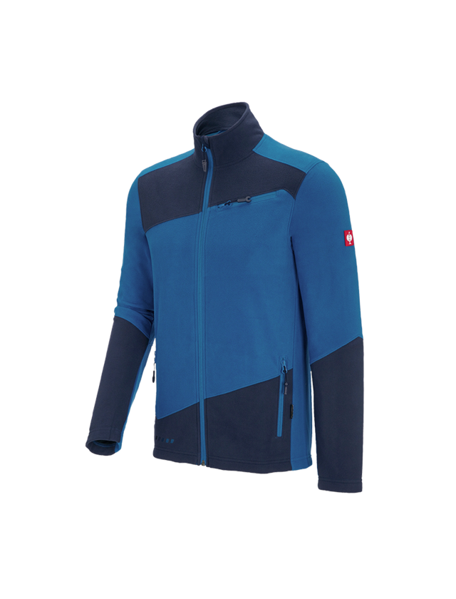 Work Jackets: Fleece jacket e.s. motion 2020 + atoll/navy