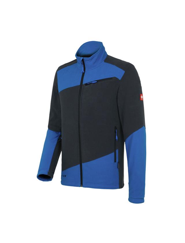 Work Jackets: Fleece jacket e.s. motion 2020 + graphite/gentian blue