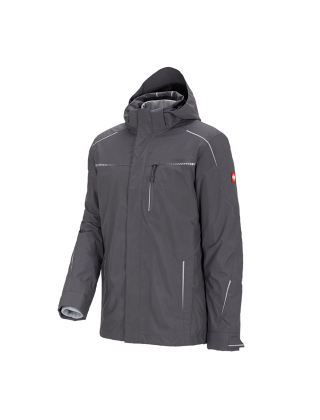 Work Jackets: 3 in 1 functional jacket e.s.motion 2020, men's + anthracite/platinum