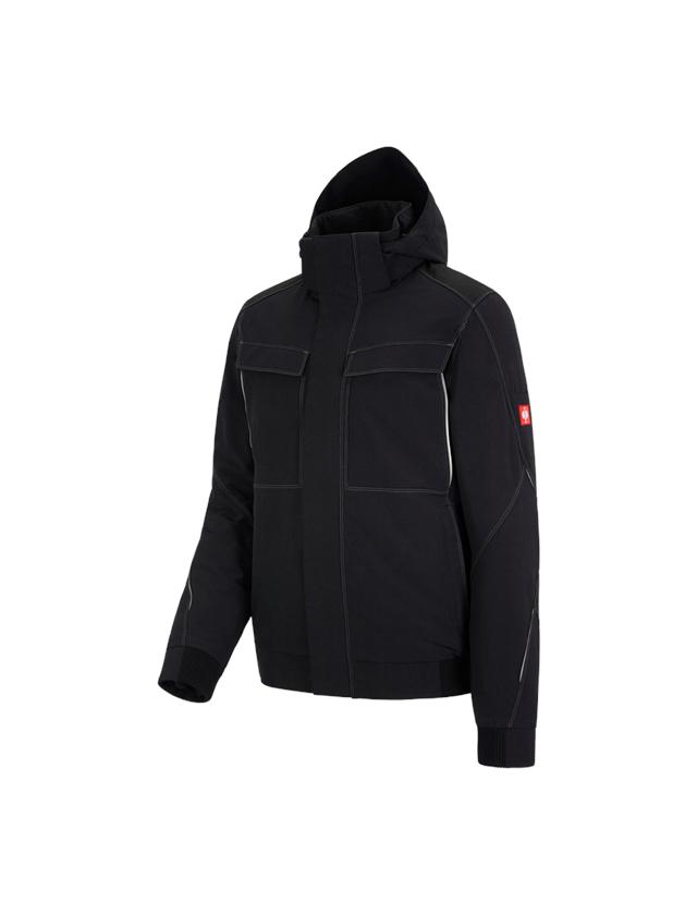 Vestes de travail: Veste de fonction d'hiver e.s.dynashield + noir