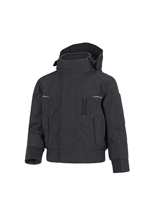 Jackets: Winter functional pilot jacket e.s.motion denim,c. + graphite