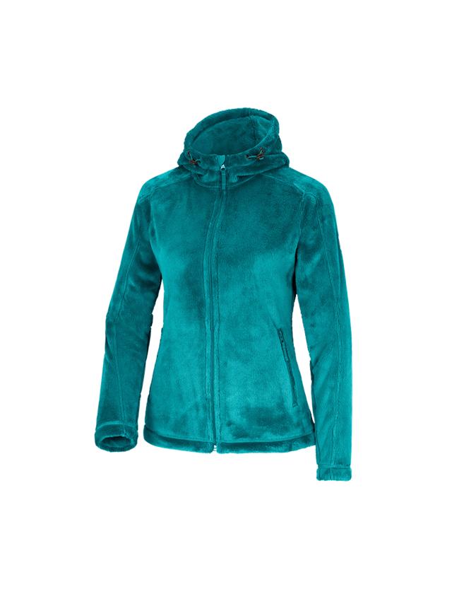 Work Jackets: e.s. Zip jacket Highloft, ladies' + ocean