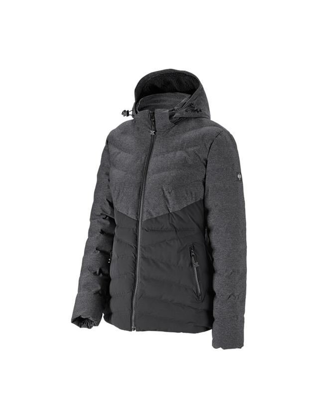 Jacken: Winterjacke e.s.motion ten, Damen + oxidschwarz