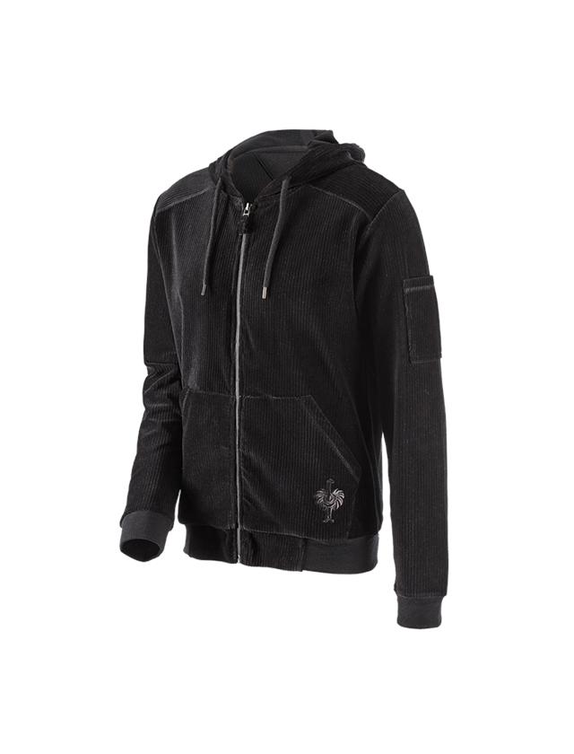 Accessoires: e.s. Veste Homewear + noir