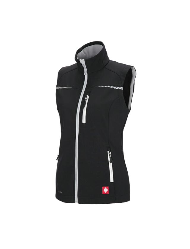 Work Body Warmer: Softshell bodywarmer e.s.motion 2020, ladies' + black/platinum