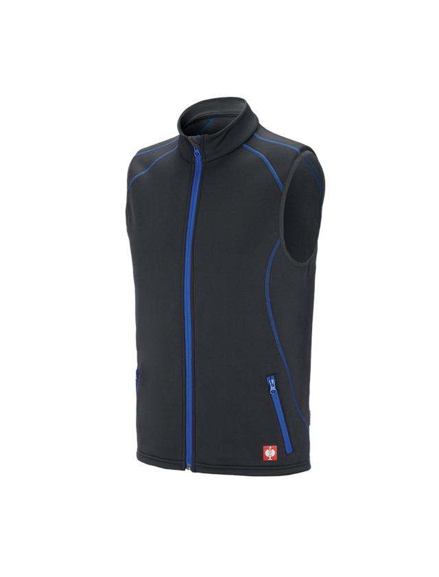 Work Body Warmer: Function bodywarmer thermo stretch e.s.motion 2020 + graphite/gentian blue