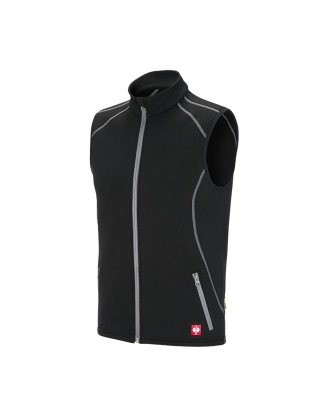 Work Body Warmer: Function bodywarmer thermo stretch e.s.motion 2020 + black/platinum