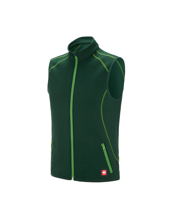 Work Body Warmer: Function bodywarmer thermo stretch e.s.motion 2020 + green/seagreen