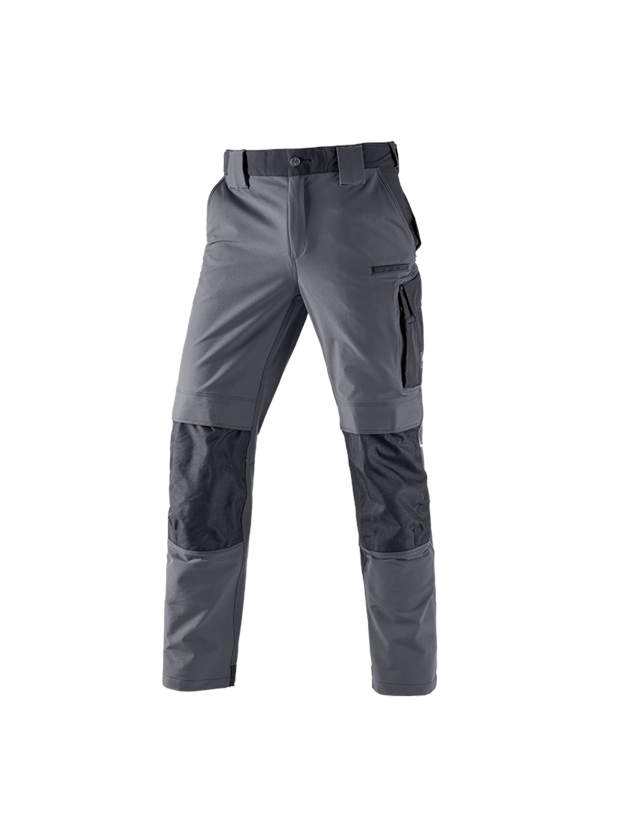 Work Trousers: Functional trousers e.s.dynashield + cement/black