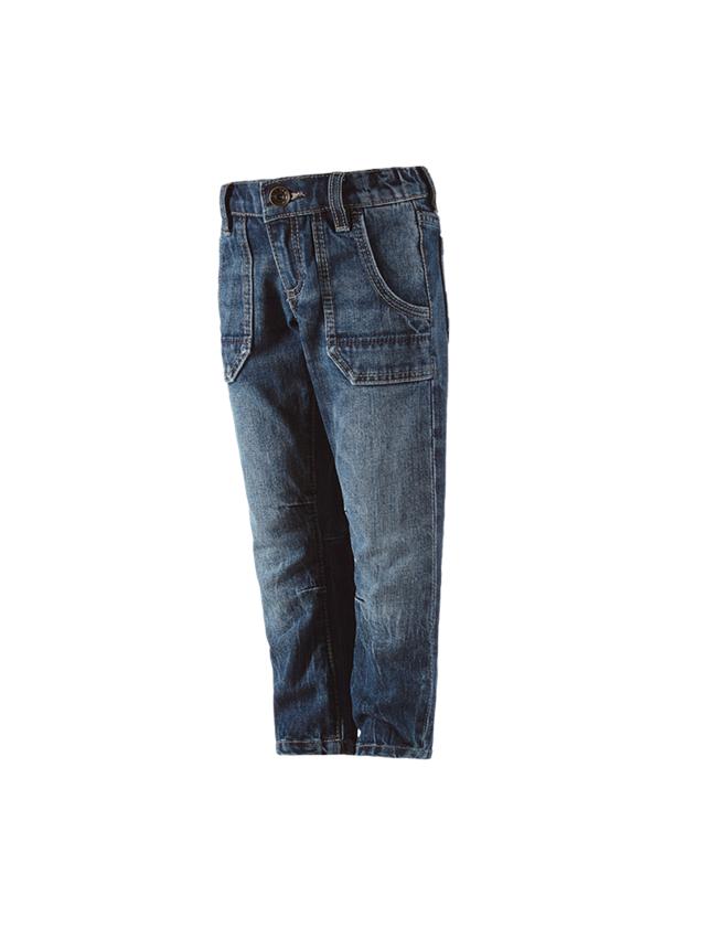 Pantalons: e.s. Jeans POWERdenim, enfants + stonewashed