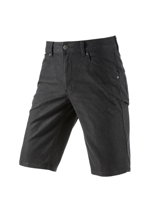 Hosen: 5-Pocket-Short e.s.vintage + schwarz
