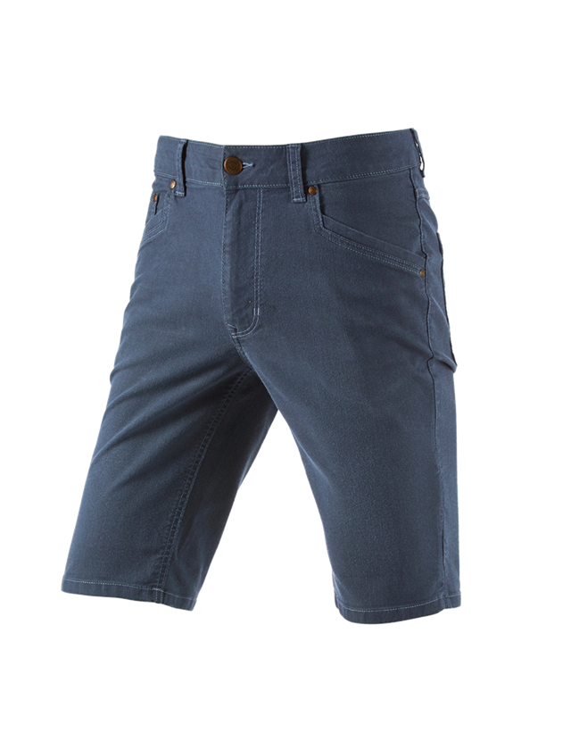 Hosen: 5-Pocket-Short e.s.vintage + arktikblau