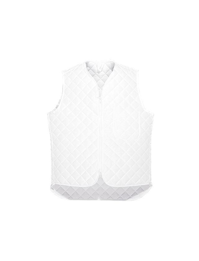 Underwear | Functional Underwear: Thermal bodywarmer Haag + white