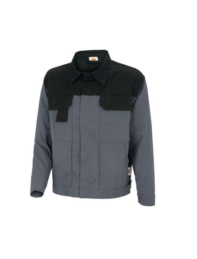 Vestes de travail: STONEKIT Veste de travail Odense + gris/noir