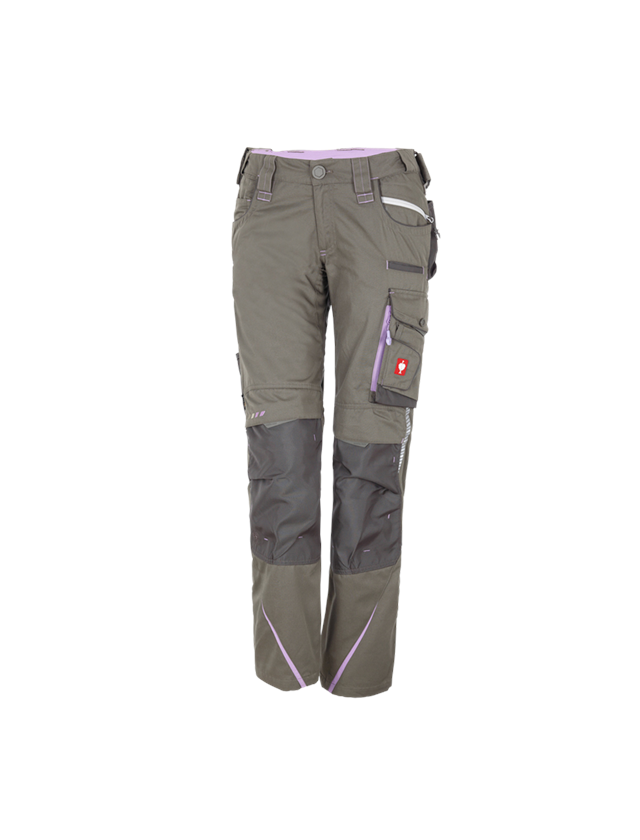 Hosen: Damenhose e.s.motion 2020 + stein/lavendel
