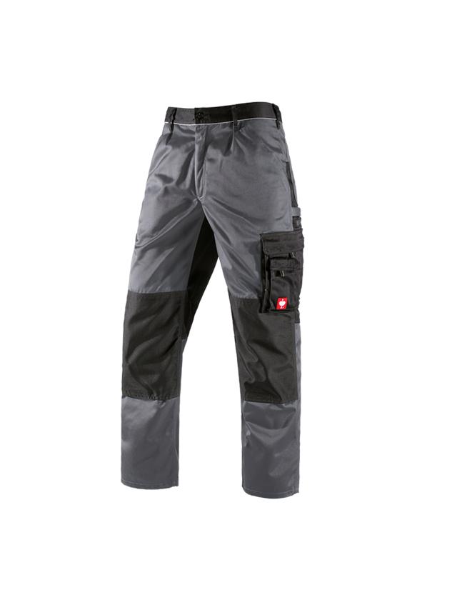 Hosen: Bundhose e.s.image + grau/schwarz