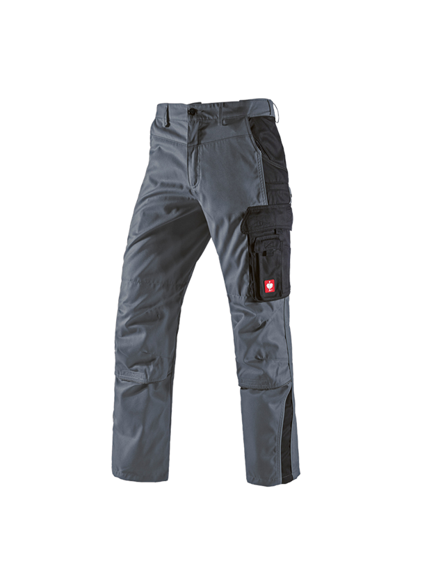 Work Trousers: Trousers e.s.active + grey/black