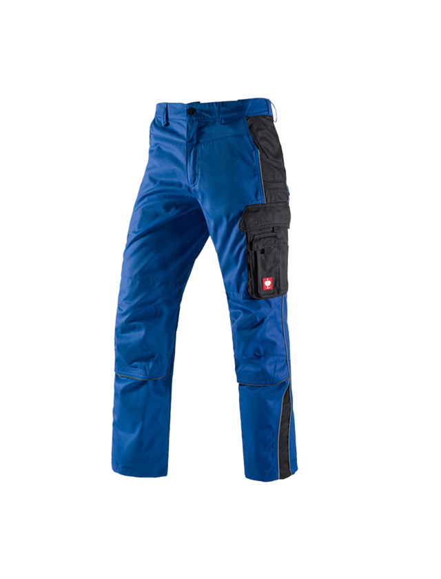 Work Trousers: Trousers e.s.active + royal/black