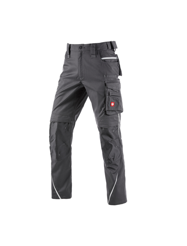 Work Trousers: Winter trousers e.s.motion 2020, men´s + anthracite/platinum