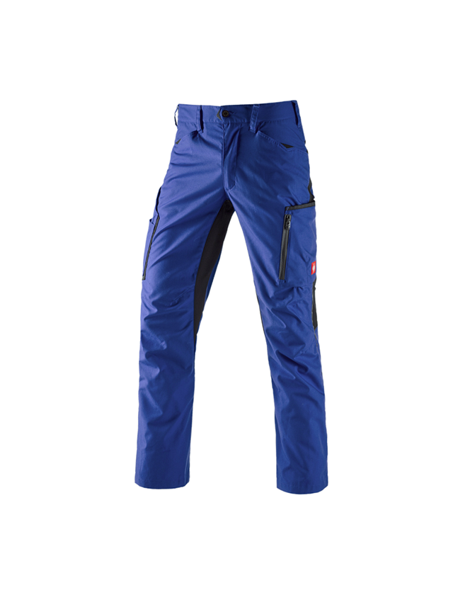 Work Trousers: Trousers e.s.vision, men's + royal/black