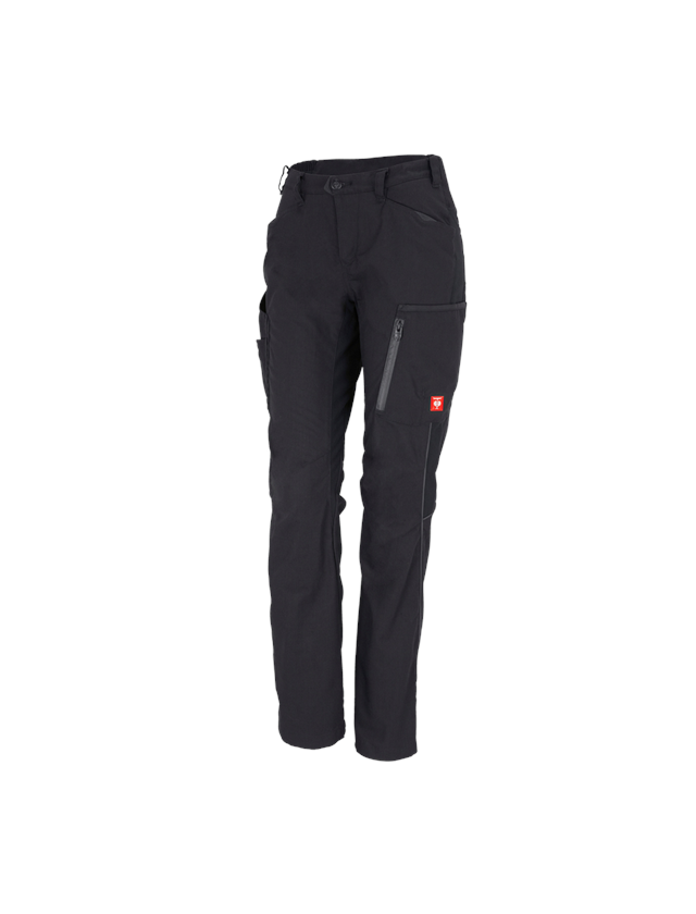 Work Trousers: Ladies' trousers e.s.vision + black