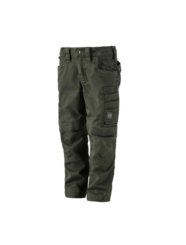 Trousers: Trousers e.s.motion ten, children's + disguisegreen