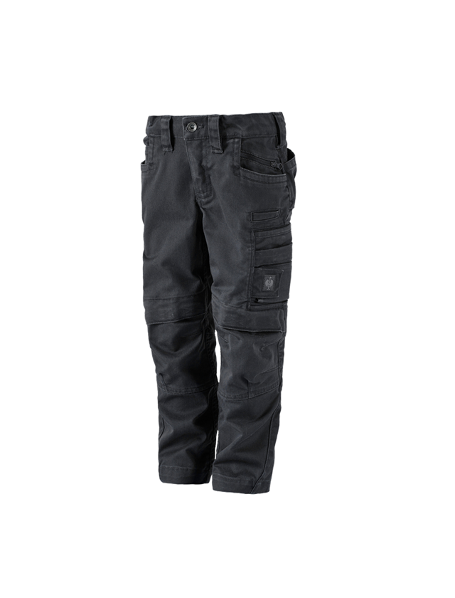 Hosen: Bundhose e.s.motion ten, Kinder + oxidschwarz