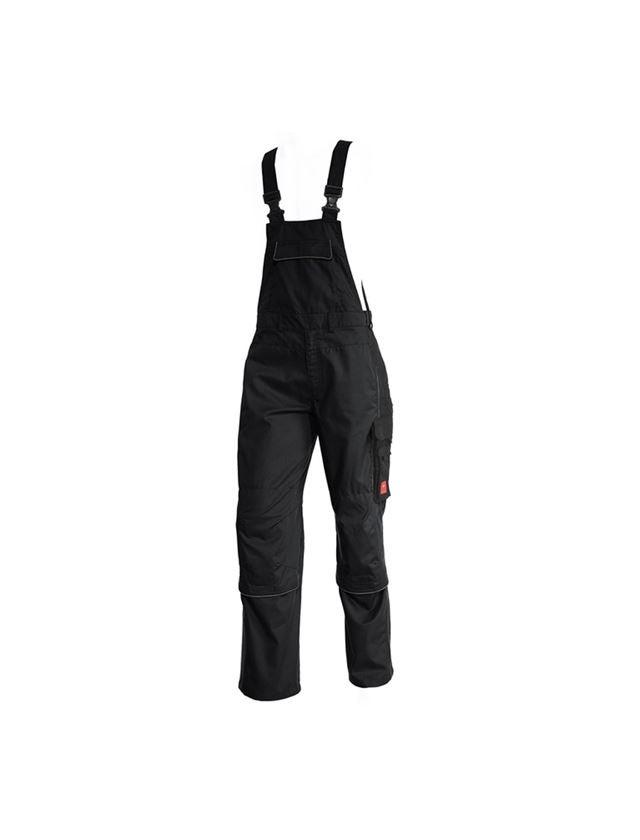 Pantalons de travail: Salopette e.s.active + noir/anthracite
