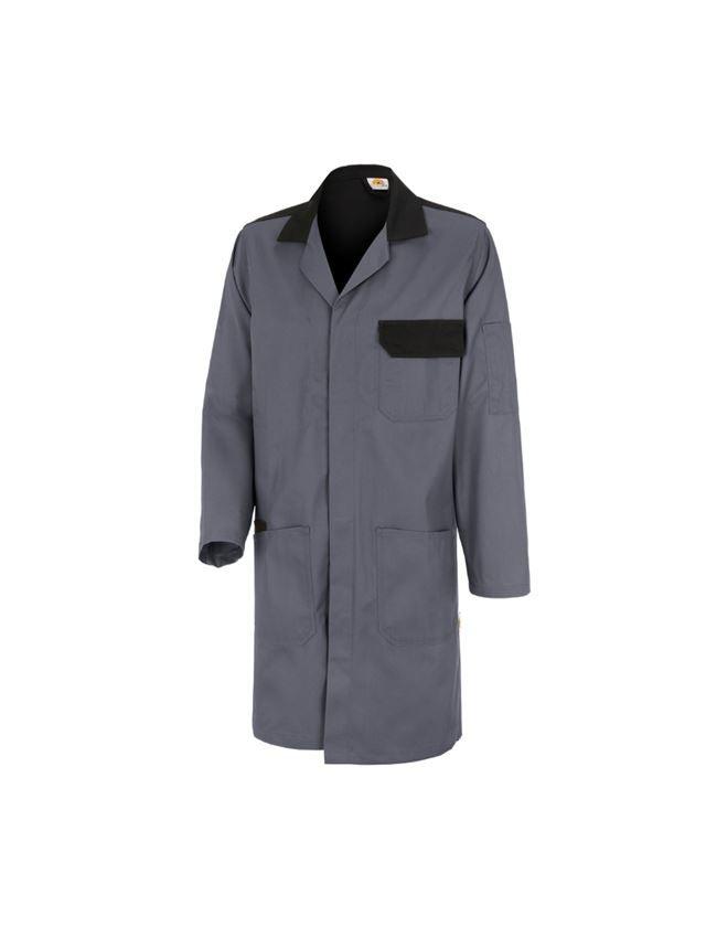 Sarraus de travail   Manteaux médicaux: STONEKIT Manteau professionnel Odense + gris/noir