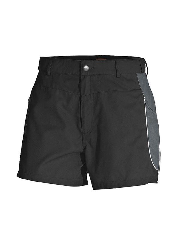 Hosen: X-Short e.s.active + schwarz/anthrazit