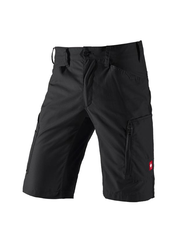 Work Trousers: Shorts e.s.vision, men's + black