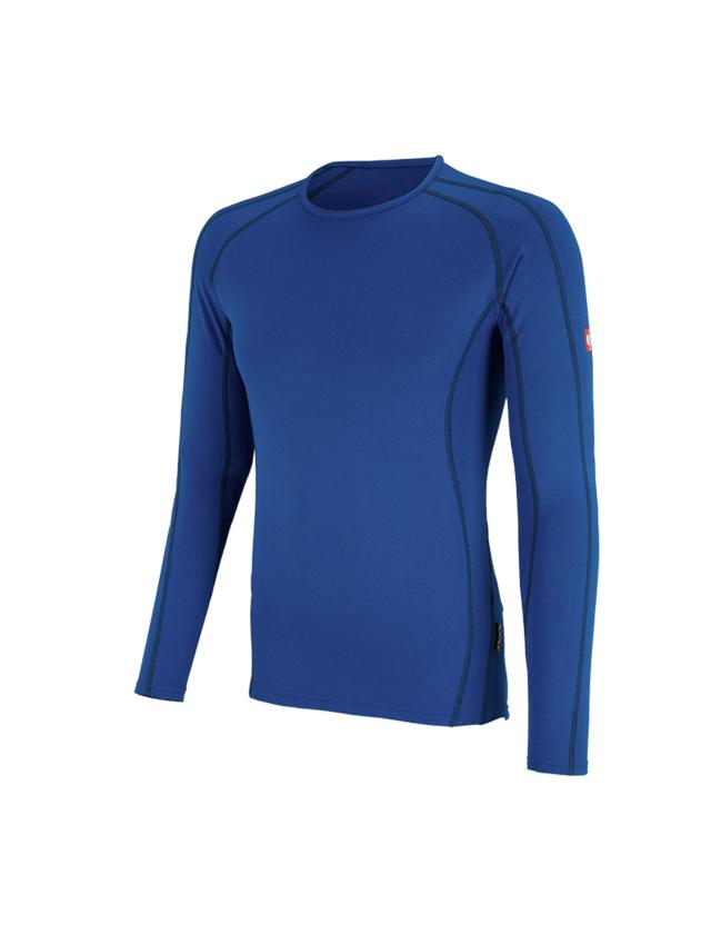 Underwear | Functional Underwear: e.s. functional-longsleeve clima-pro,warm, men's + gentian blue