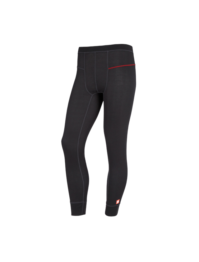 Unterwäsche   Thermokleidung: e.s. Funktions-Long Pants basis-light + schwarz