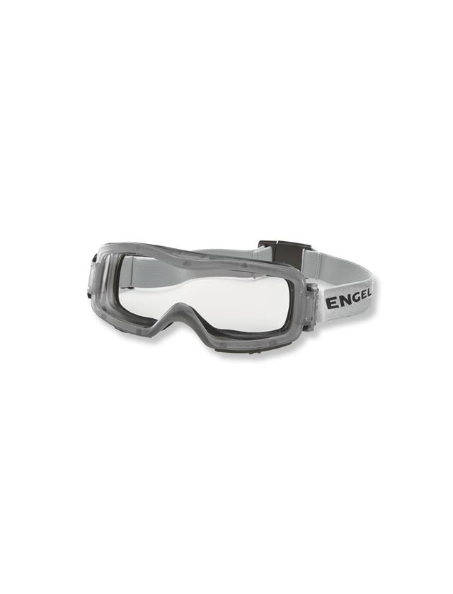 Safety Glasses: e.s. Safety glasses Comba + grey/transparent