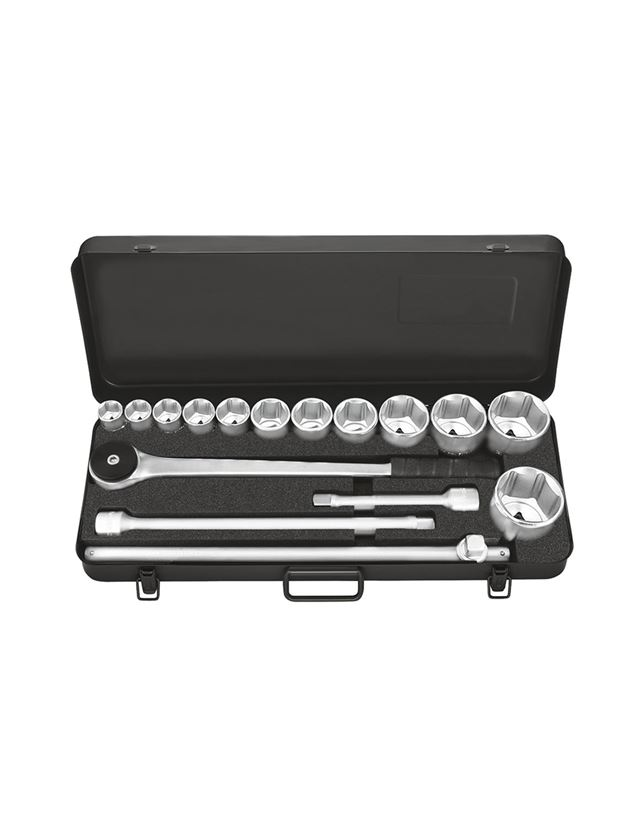 Socket wrench: Industrial socket wrench case 3/4 inch prof.