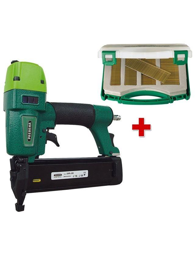 Druckluftwerkzeug | Zubehör: Druckluftnagler 2XR-J50 + Stauchkopfnägel Typ J