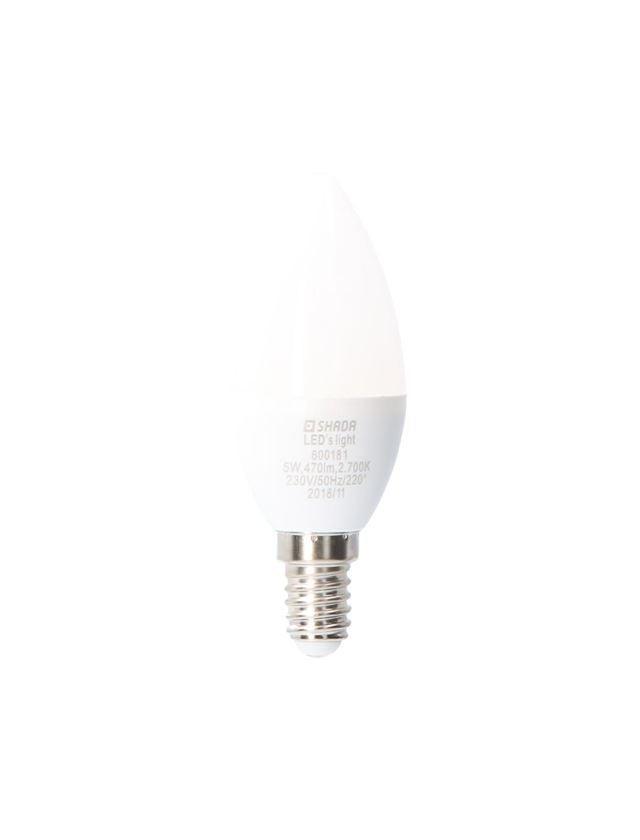 Lampen   Leuchten: LED-Lampe Kerze