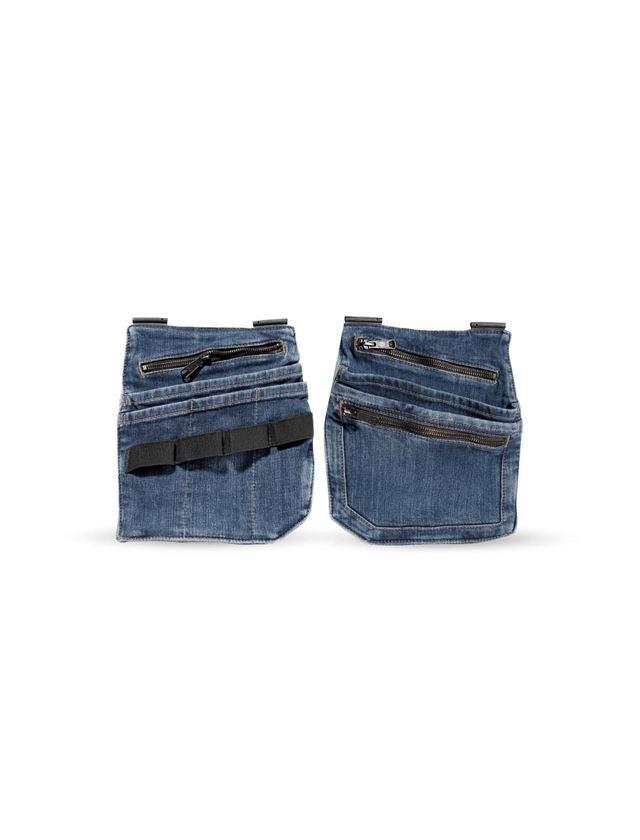 Accessoires: Jeans-Werkzeugtaschen e.s.concrete + stonewashed